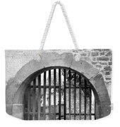 Arched Gate B W Weekender Tote Bag
