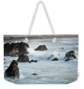 Arched Rock Wave Break Weekender Tote Bag