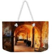 Arched Spanish Hall Weekender Tote Bag