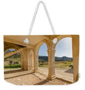 Arches And Stairs Of Derelict Agios Georgios Church Weekender Tote Bag