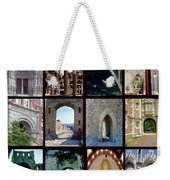 Arches Collage Weekender Tote Bag