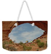 Arches Formation 38 Weekender Tote Bag