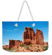 Arches National Park From A Utah Highway Weekender Tote Bag