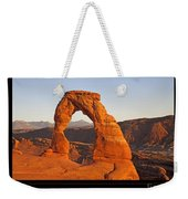 Arches National Park Poster Weekender Tote Bag