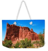 Arches National Park, Utah Usa - Tower Of Babel, Courthouse Tower Weekender Tote Bag