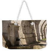 Arches Under The Agora Weekender Tote Bag