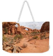 Arches With Wood Weekender Tote Bag