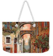 Archetti In Rosso Weekender Tote Bag