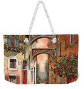 Archetti In Rosso Weekender Tote Bag by Guido Borelli