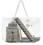 Archimedes Screw, 1769 Weekender Tote Bag