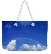 Arching Rainbow Weekender Tote Bag