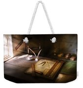 Architect - The Drafting Table  Weekender Tote Bag