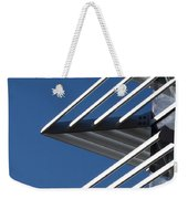 Architectural Detail Of Triangles Weekender Tote Bag