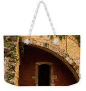 Architectural Details In Chania Weekender Tote Bag