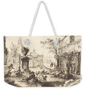 Architectural Fantasy With Roman Ruins Weekender Tote Bag