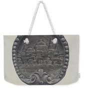 Architectural Ornament (city Of Boston) Weekender Tote Bag