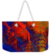 Architecture Detail  Amber Fort Palace India Rajasthan Jaipur Abstract Square 1a Weekender Tote Bag