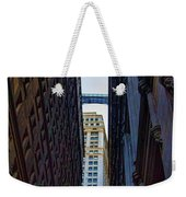 Architecture New York City The Crossing  Weekender Tote Bag