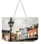 Architecture Of The French Quarter In New Orleans Weekender Tote Bag