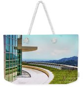 Architecture View Getty Los Angeles  Weekender Tote Bag