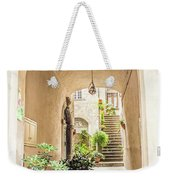 Archway And Stairs In Italy Weekender Tote Bag