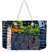 Archway To Great Wall Weekender Tote Bag