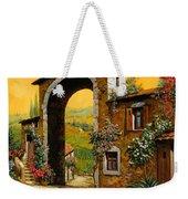 Arco Di Paese Weekender Tote Bag by Guido Borelli