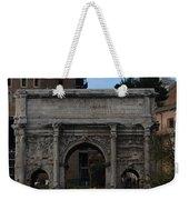 Arco Di Settimio Severo Weekender Tote Bag