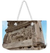 Arco Di Tito Relief Weekender Tote Bag