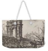 Arco Di Trajoano In Ancona Weekender Tote Bag