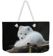 Arctic Fox Weekender Tote Bag