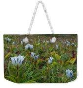 Arctic Gentian Blooming In The Alpine Weekender Tote Bag