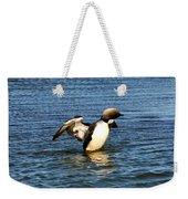 Arctic Loon Weekender Tote Bag