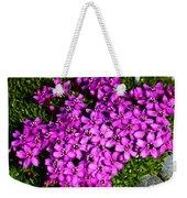 Arctic Wild Flowers Weekender Tote Bag
