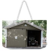 Ardenwood Historic Farm Garage Weekender Tote Bag