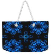 Area Blue Abstract Weekender Tote Bag