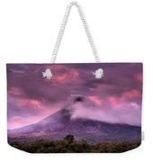Arenal Volcano Weekender Tote Bag