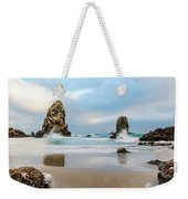 Arent Starfish Supposed To Be Underwater Weekender Tote Bag