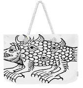 Argus Sea Monster, 1537 Weekender Tote Bag