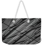 Aria Hotel Canopy Abstract Weekender Tote Bag