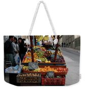 Arica Chile Fruit Stand Weekender Tote Bag