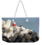 Arica Chile Sea Life Weekender Tote Bag