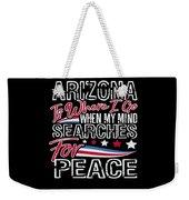 Arizona American Patriotic Memorial Day Weekender Tote Bag