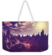 Arizona Canyon Sunshine Weekender Tote Bag