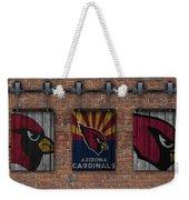 Arizona Cardinals Brick Wall Weekender Tote Bag