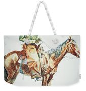 Arizona Cowboy, 1901 Weekender Tote Bag