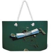 Arizona Memorial Aerial Weekender Tote Bag
