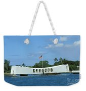 Arizona Memorial Weekender Tote Bag