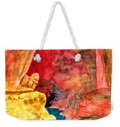 Arizona Rainbow Weekender Tote Bag