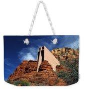 Arizona, Sedona  Chapel Of The Holy Cross Weekender Tote Bag